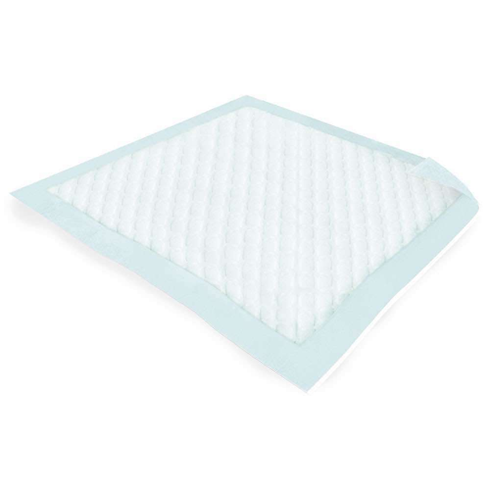 Image of a disposable incontinence bed pad