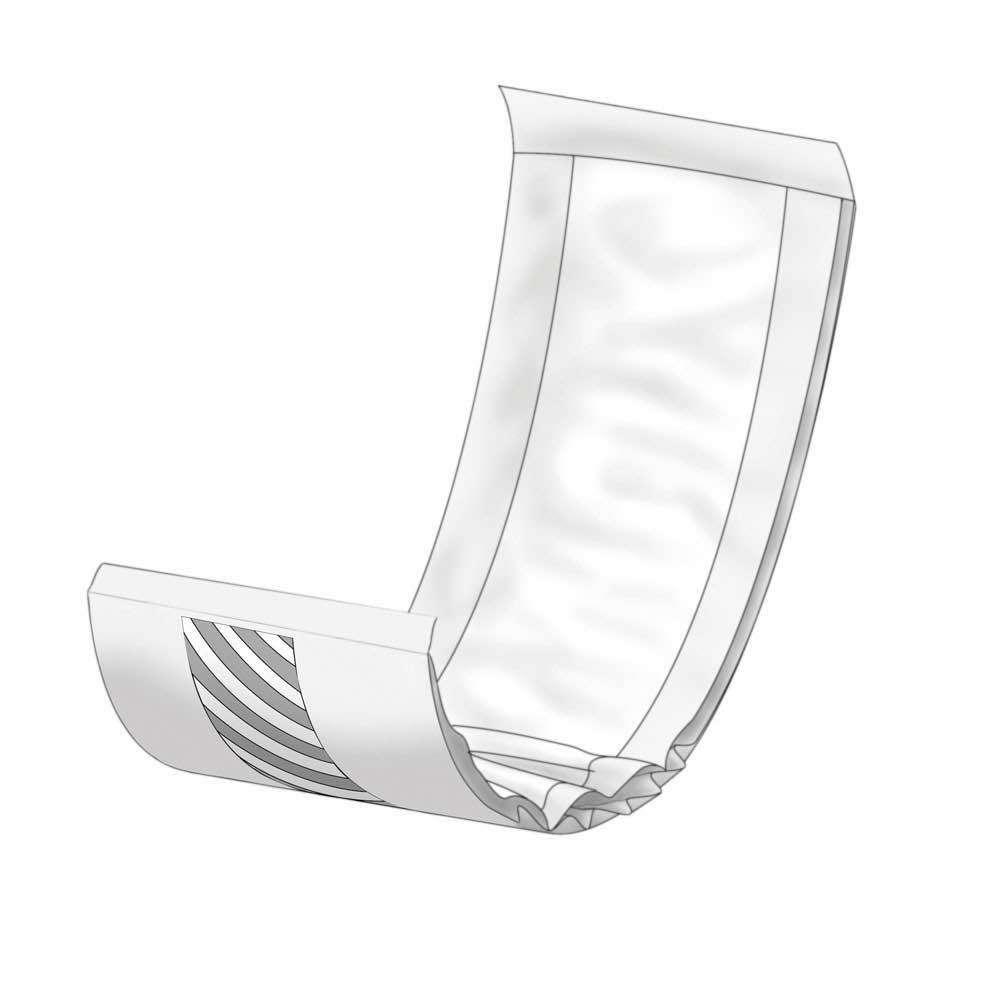 An image of a Recangular Incontinence Pad - Abri-Let Mini