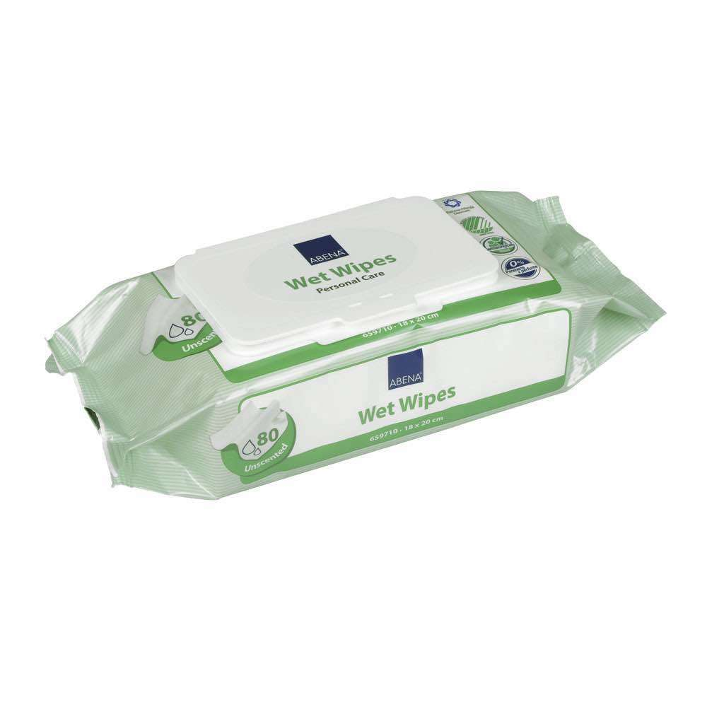 Pack of 80 wet wipes