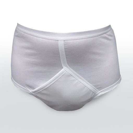 Washable incontinence briefs for men