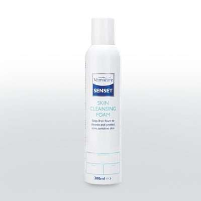 Senset skin cleansing foam