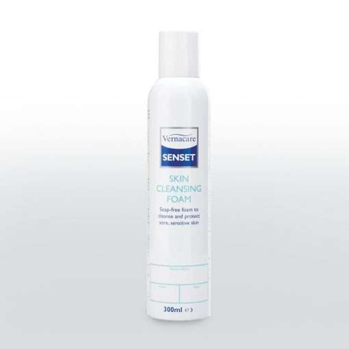 Senset skin cleansing foam