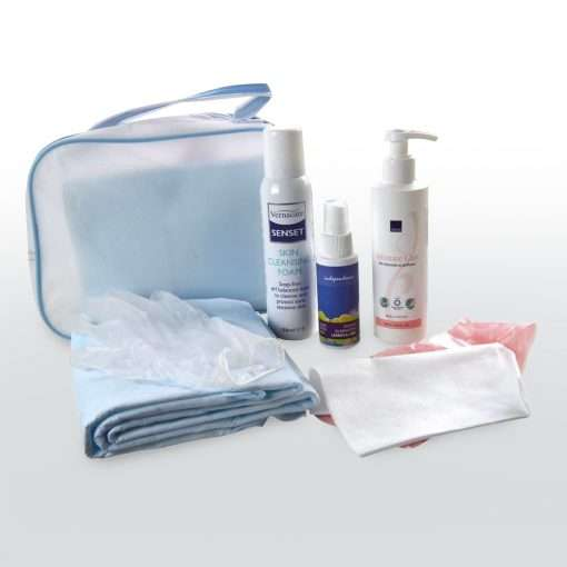 Incontinence care travel pack